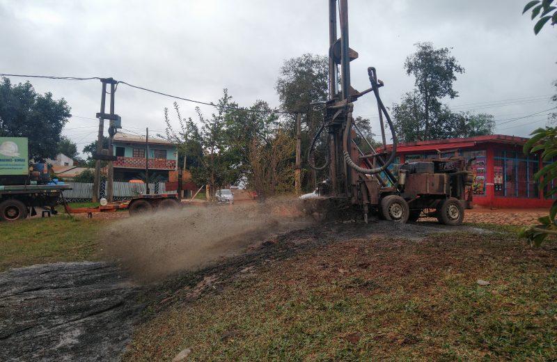 Crisis hídrica: Concluyeron la perforación del barrio Nuevo Amanecer