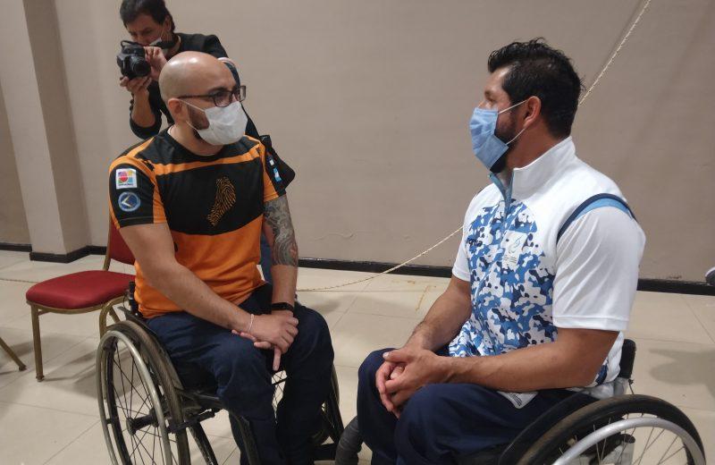 Iguazú: Alejandro Maldonado compartió  su experiencia como atleta paralímpico