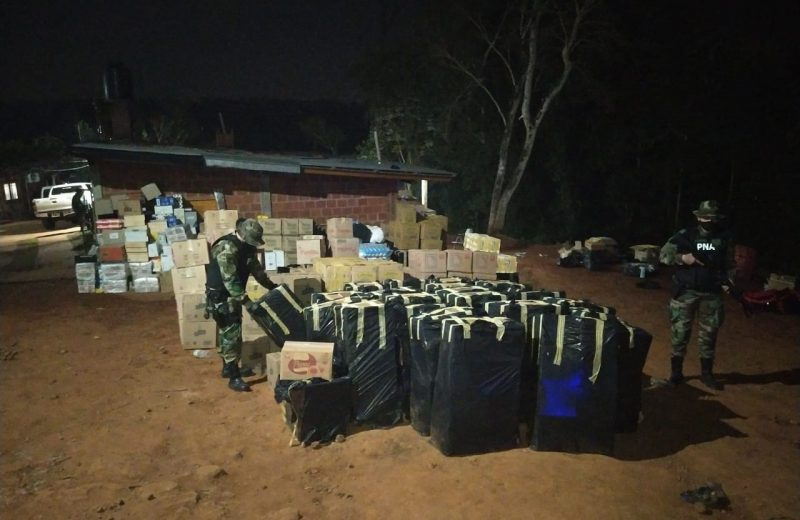 Prefectura detuvo 83 personas y secuestró mercadería ilegal en Puerto Rico