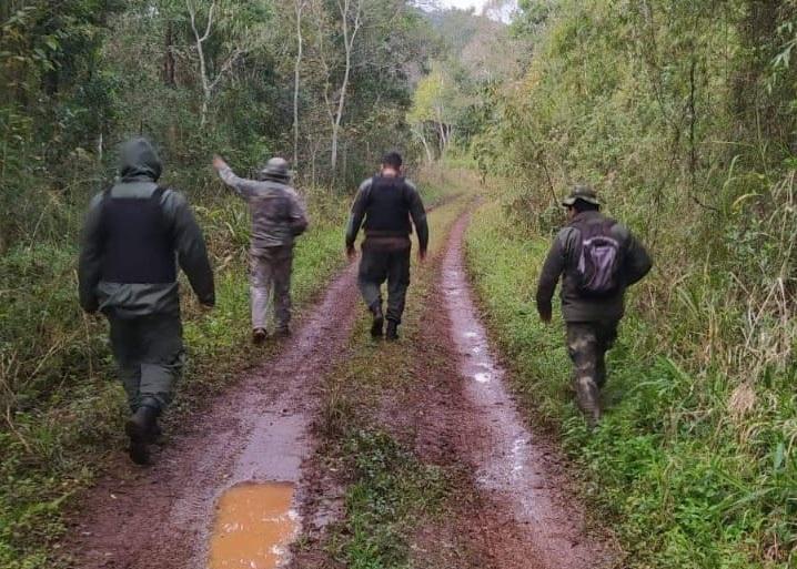 Secuestraron armas de fuego y una motocicleta sobre la ruta provincial 16