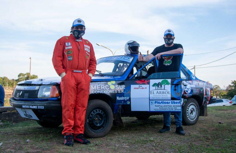 Cuatro de los  95 preinscriptos de la 2° fecha del Misionero de Rally en San Javier, son de puerto Iguazú