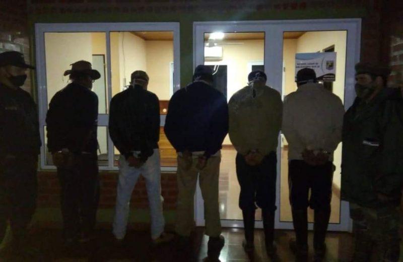 Detuvieron a cinco personas por caza furtiva en el Parque Urugua-í