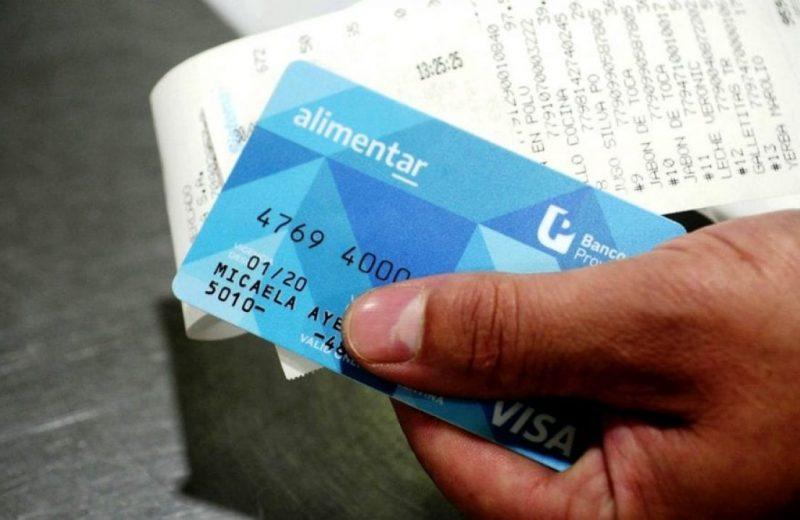 Desde este lunes hasta el viernes inclusive se entregarán las tarjetas alimentar en Iguazú