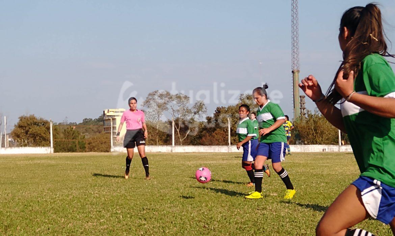 Suspendieron la final del 1° torneo de futbol femenino de LRFI