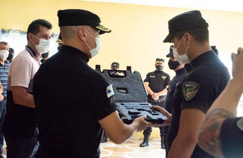 Entregaron más armas reglamentarias en Bernardo de Irigoyen y Puerto Iguazú