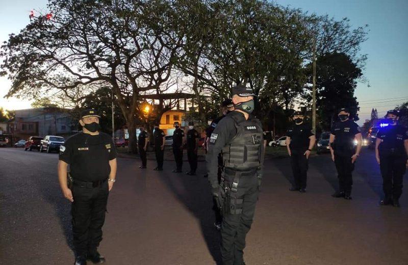 Más de 100 efectivos policiales están afectados al operativo de prevención