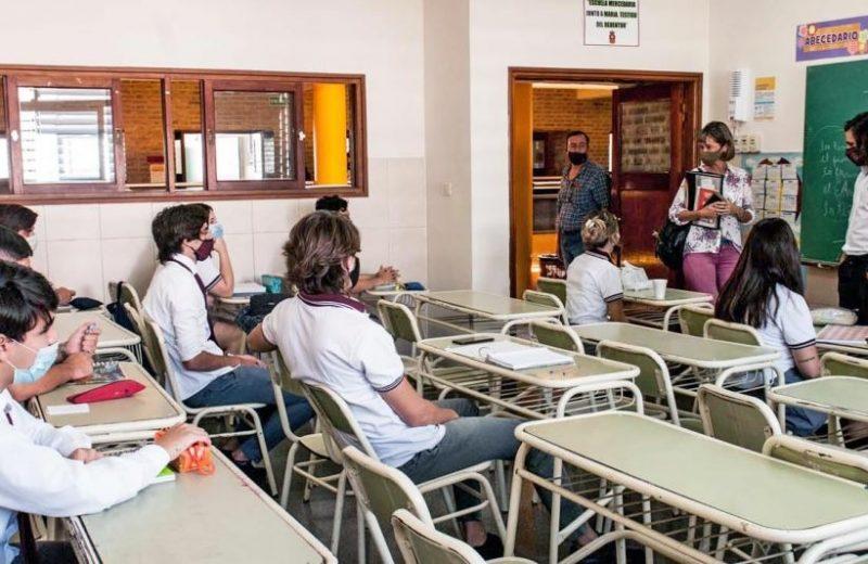 Educación: confirman presencialidad plena en escuelas desde el lunes 20