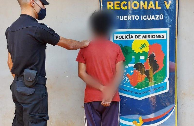 """""""Boquetero"""" detenido por robó  a un comercio de Andresito"""
