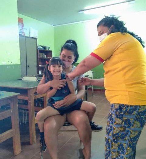 Plan de Vacunación COVID 19 en las escuelas para inmunizar a alumnos de 3 a 17 años