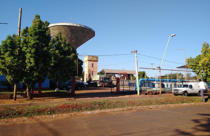 Trabajan para normalizar el servicio de distribución de agua potable en Iguazú tras el temporal