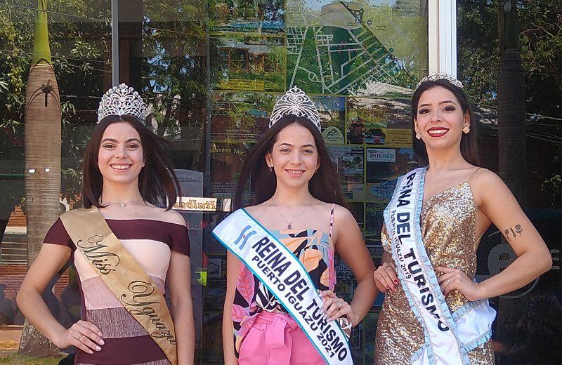 Bellezas de Iguazú representaran al destino en las fiestas del Agricultor y la Yerba Mate