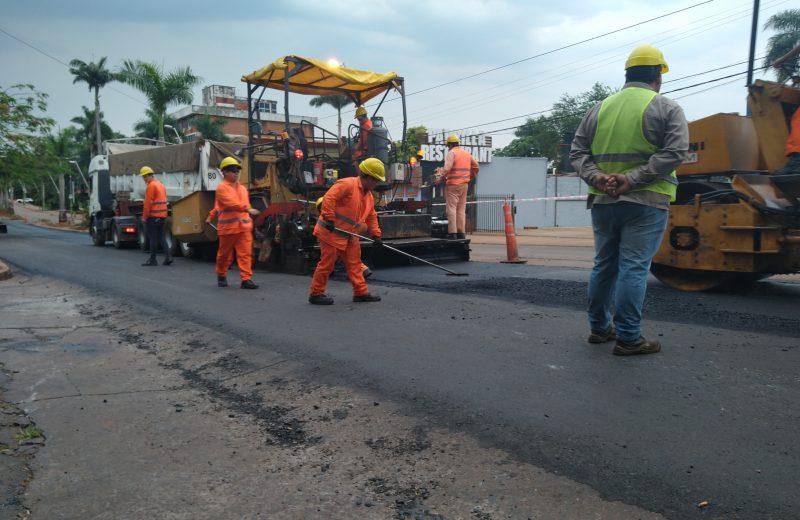 Iguazú: Trabajan en un plan de modernización para el centro y continuarán las obras en los barrios