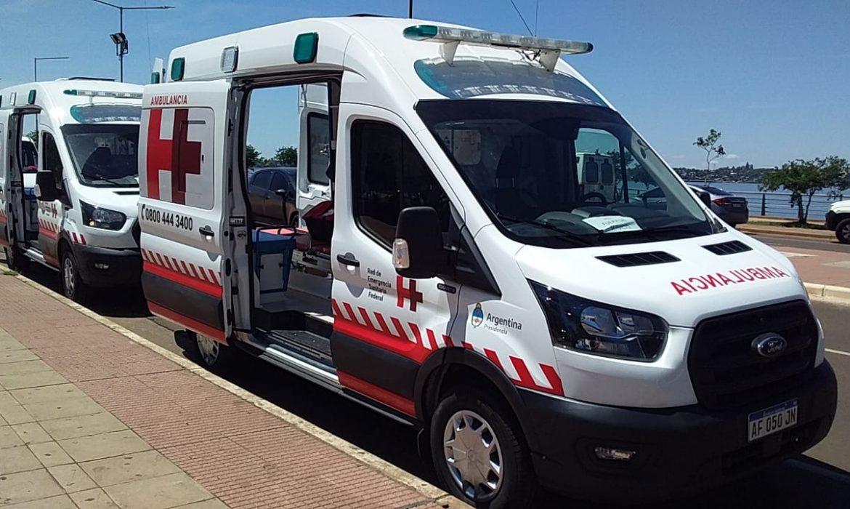 Con la llegada de las ambulancias estiman que en 10 días estará funcionando el hospital turístico
