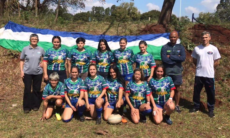 Las chicas del rugby reúnen fondos para costear el viaje a Posadas para los entrenamientos