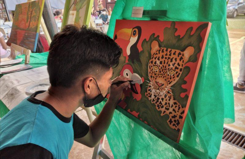 Se realizó la VIII ExpoMbyarte y III Jornada de Lectura en el BOP N° 111 de Puerto Iguazú