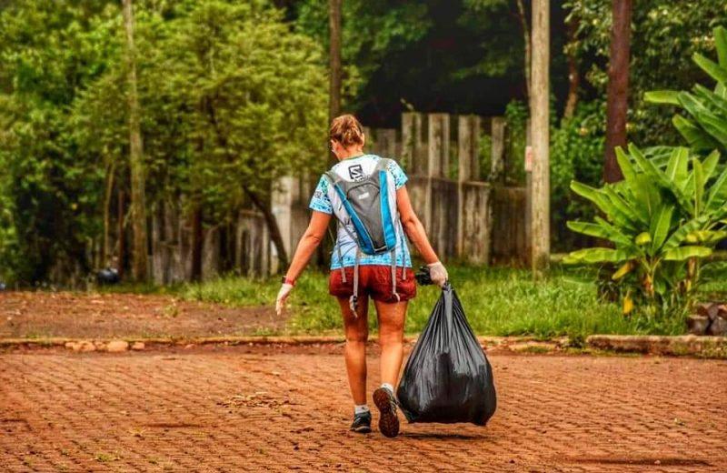 Este domingo se realizará la primera carrera plogging 5k en Iguazú