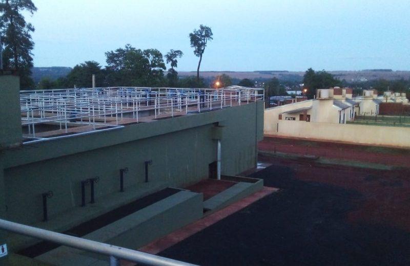 La planta potabilizadora del barrio las Leñas está fuera de servicio