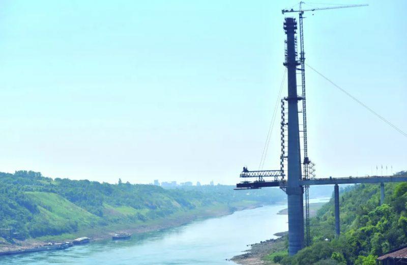 El puente de la integración alcanzó un avance de obra del 70 por ciento