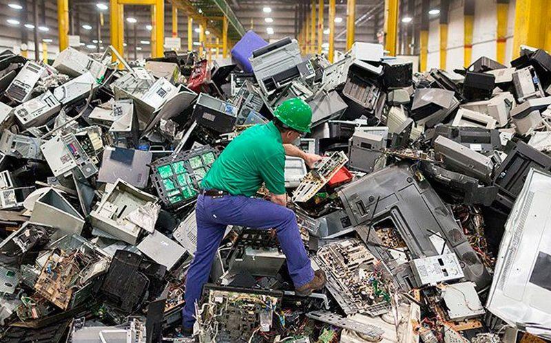 Los residuos electrónicos llegarán este año los 57,4 millones de toneladas